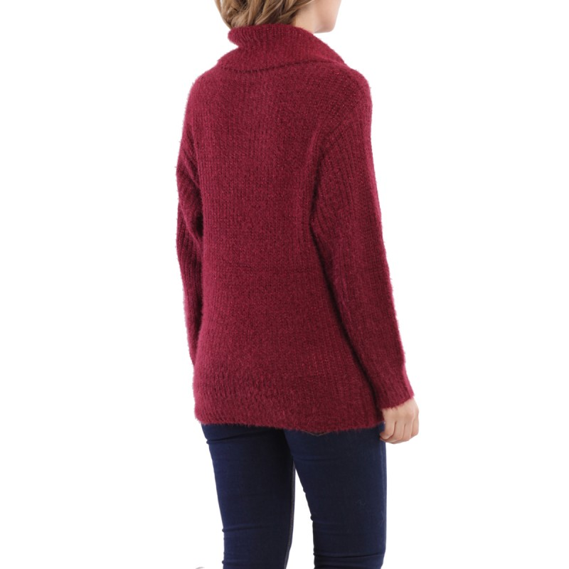 Pull large bordeaux