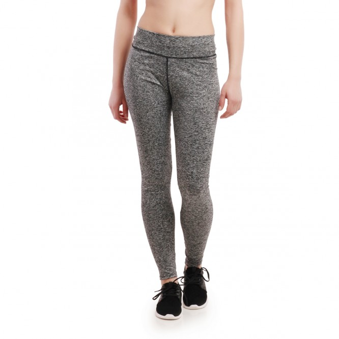 Legging fitness gris chiné