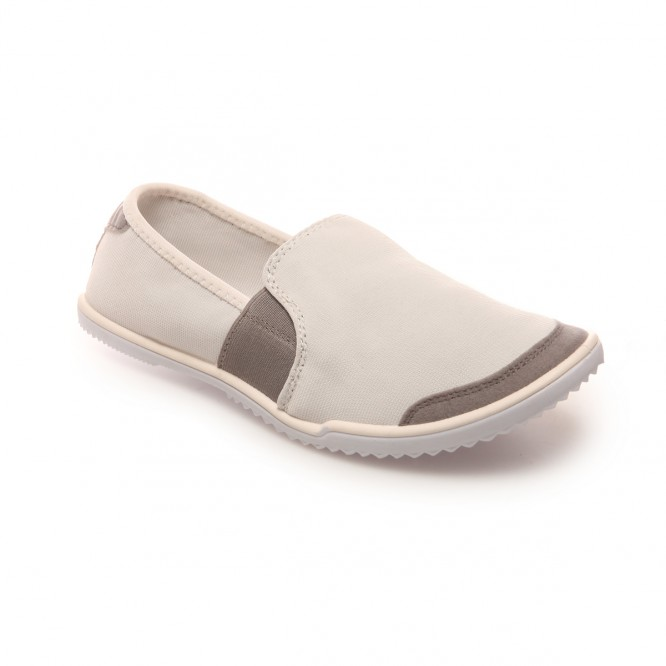 Baskets slip-on blanches extensibles