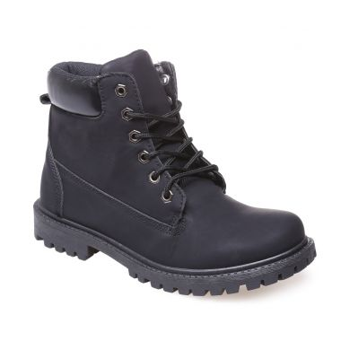 Bottines rangers noires