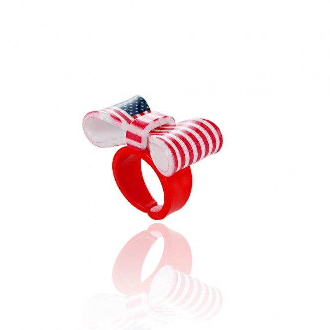 Bague Noeud XXL For the USA