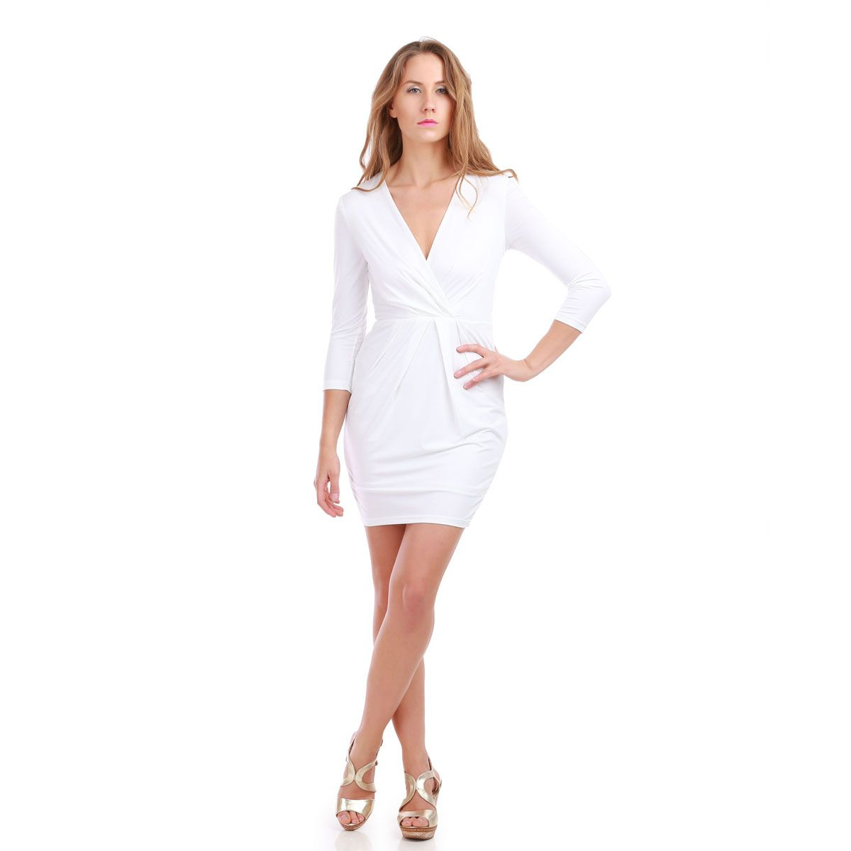 Robe blanche be