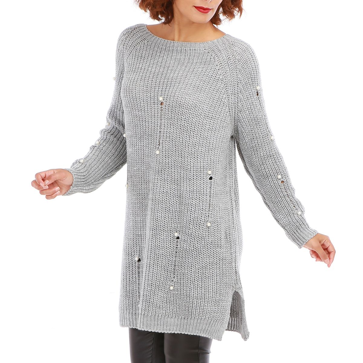 Robe pull d'hiver pas cher