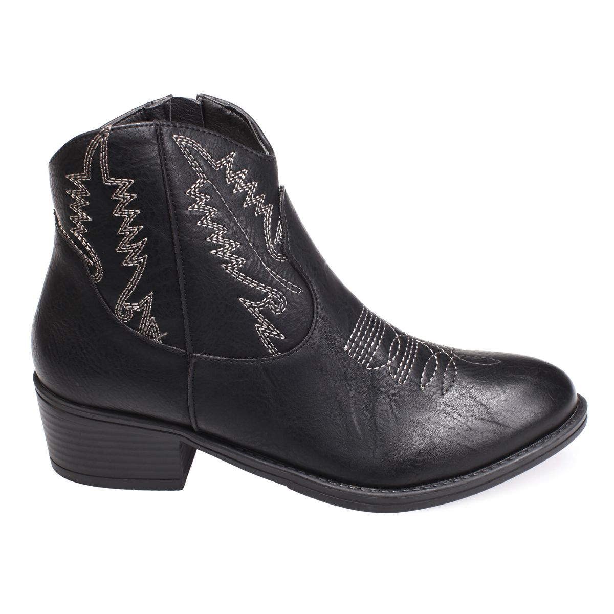 Bottines santiags noires