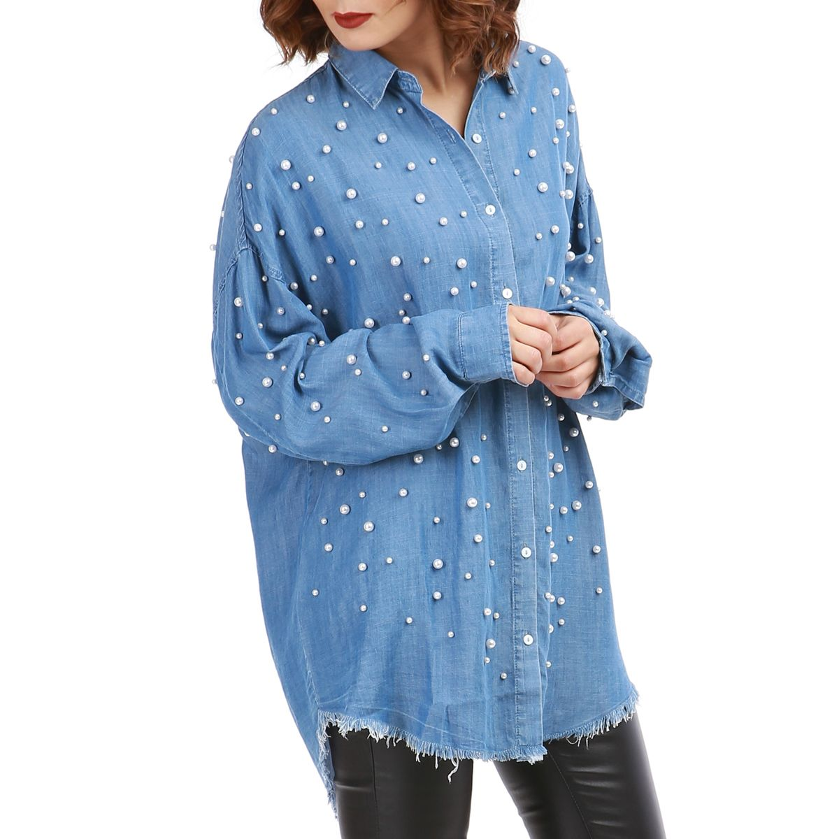 Chemise oversize femme pas cher   Fisysconsulting 32a59115a9c