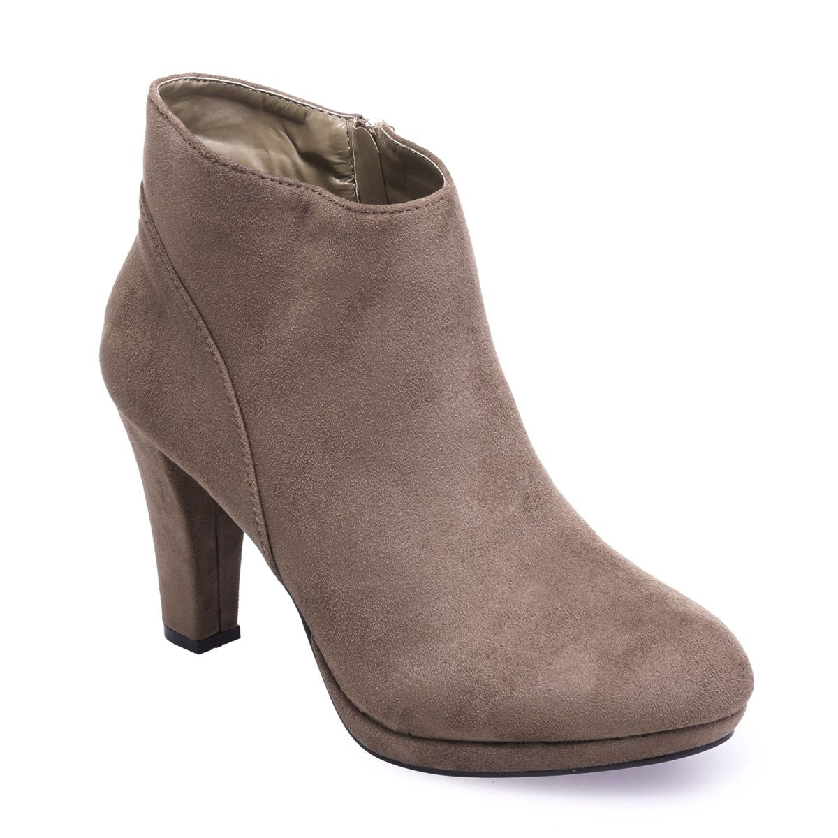 Low boots Hype taupe