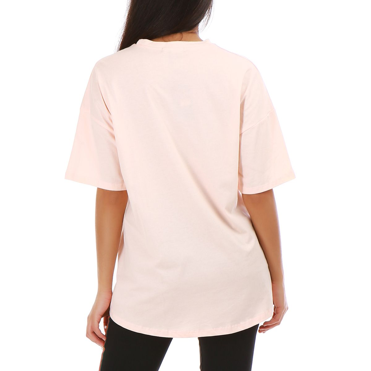 """T-shirt large rose """"Once at a full moon"""""""
