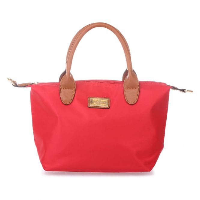 Sac cabas rouge small style shopping