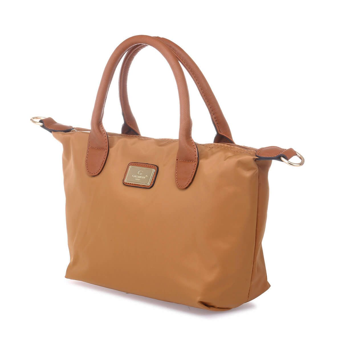 Sac cabas camel small style shopping