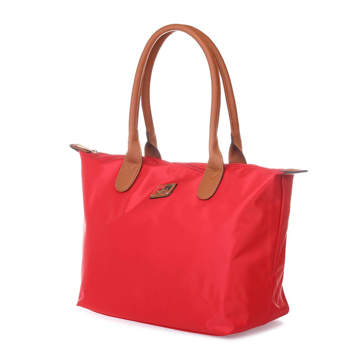Sac cabas rouge medium style shopping