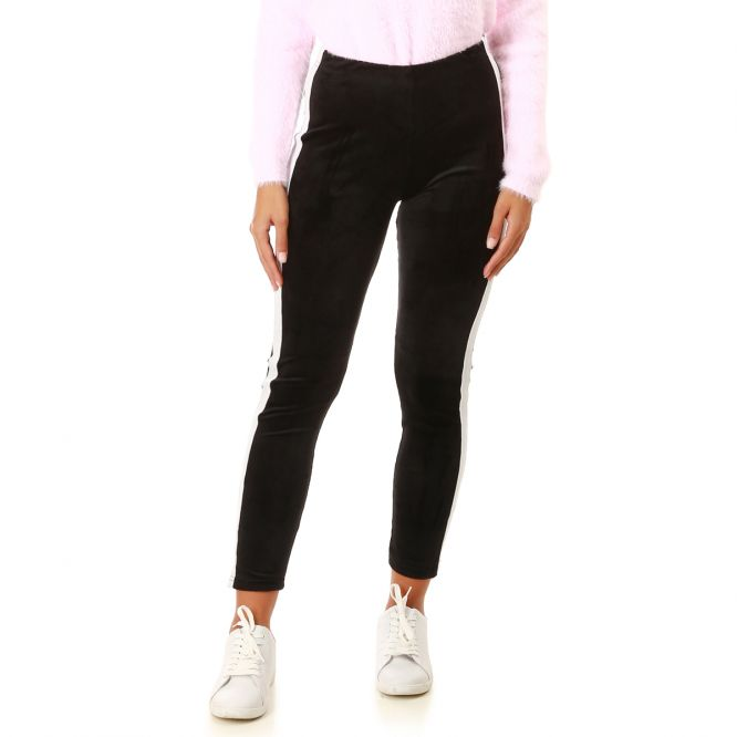 Leggings   Legging noir, legging à fermetures, tregging - La Modeuse 75cc1367a358