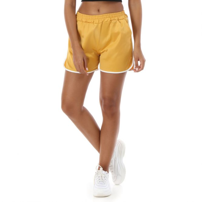 d6bfa4e8df811d Short sporty jaune