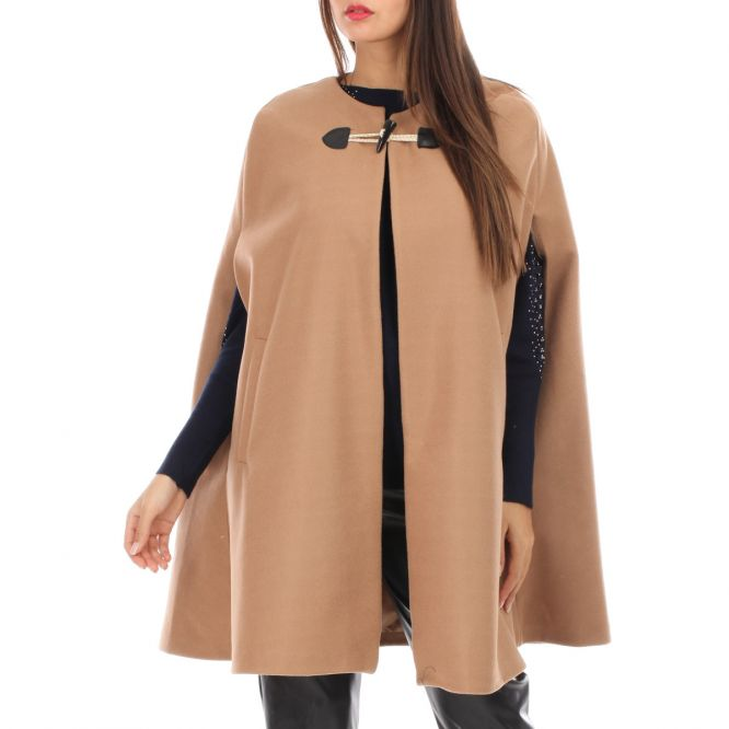 Cape camel avec attache
