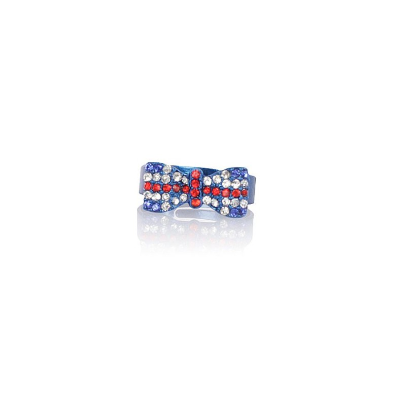 Bague Noeud & Strass London