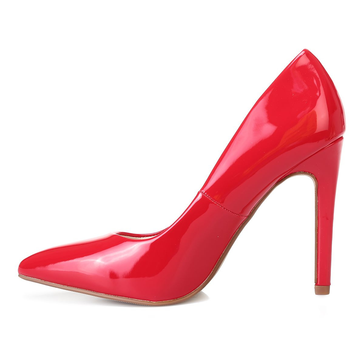 Stilettos rouges vernis