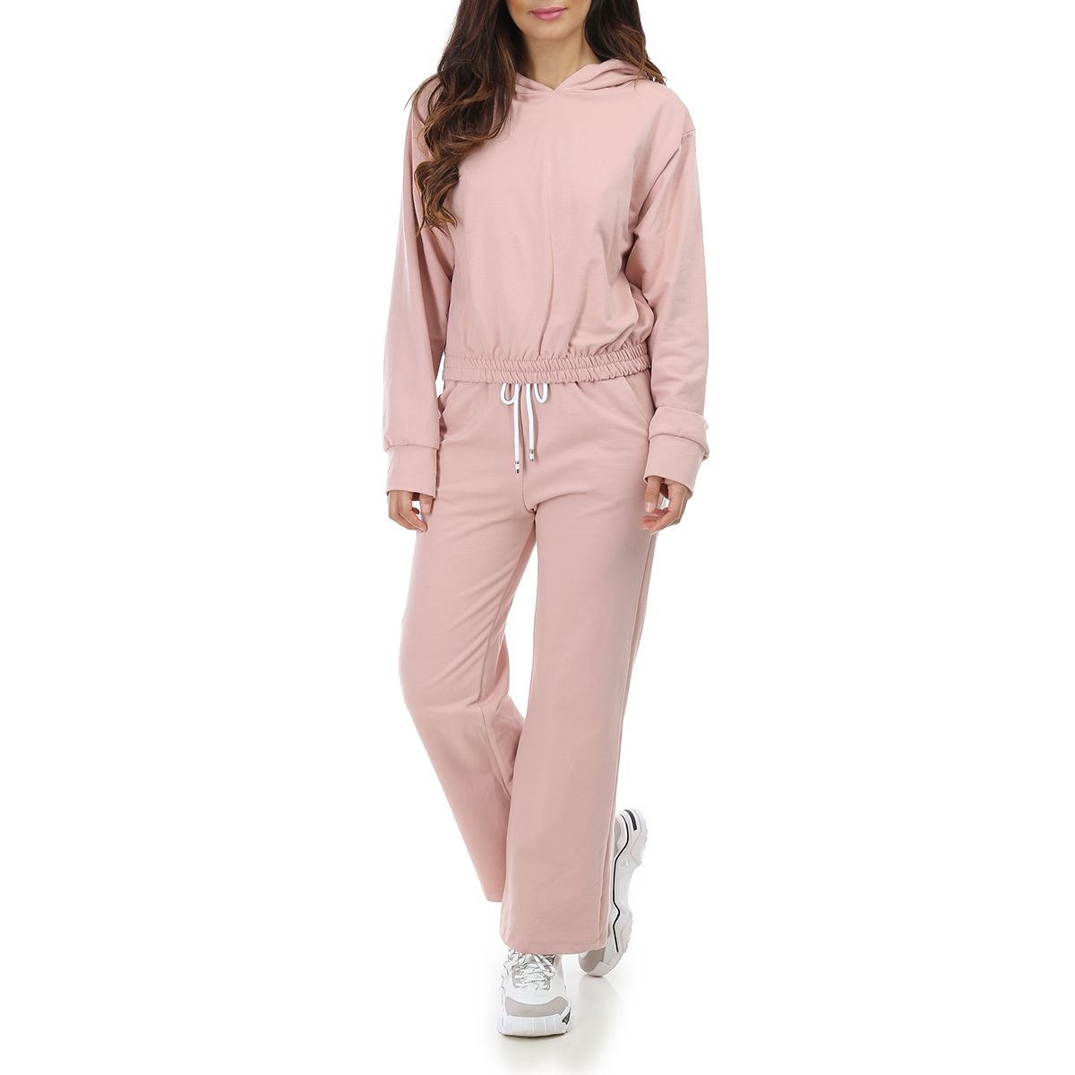 Ensemble rose avec jogging large