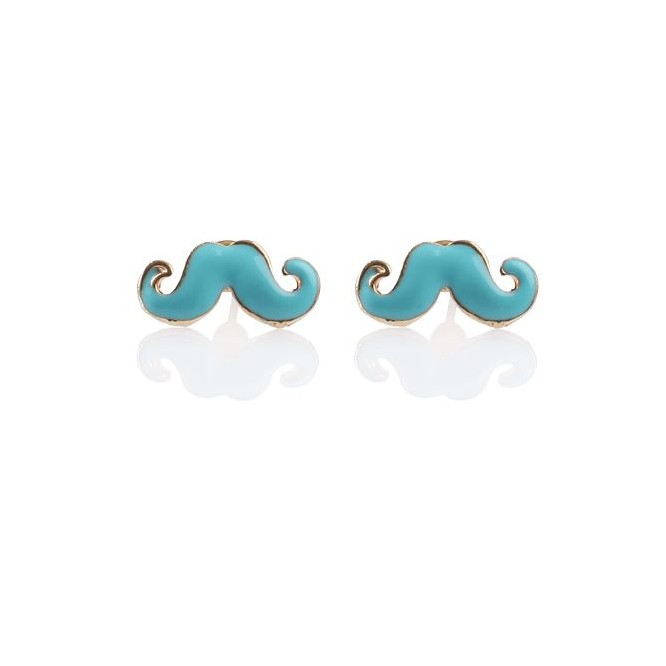 Boucles moustache Color