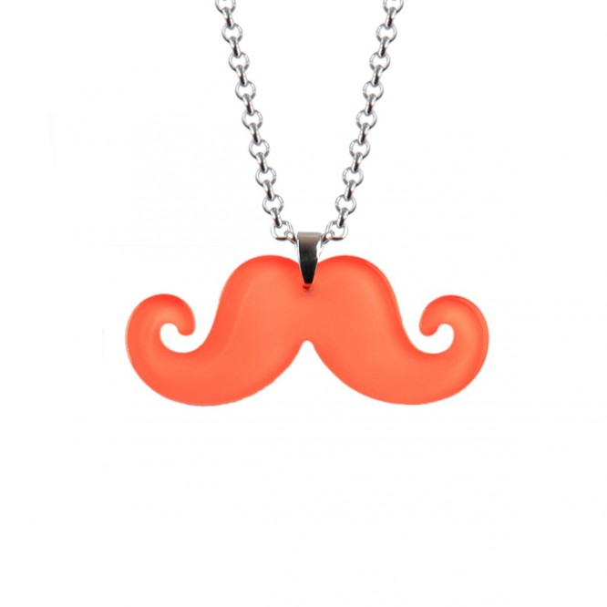 Collier moustache color