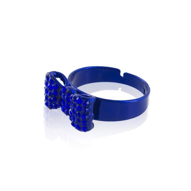 Bague Noeud Little & Strass