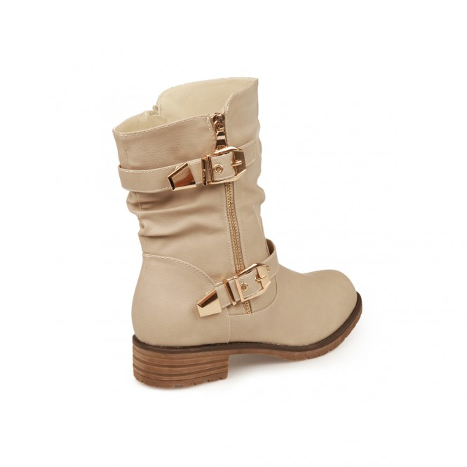 Bottine enfant Yonkers beige