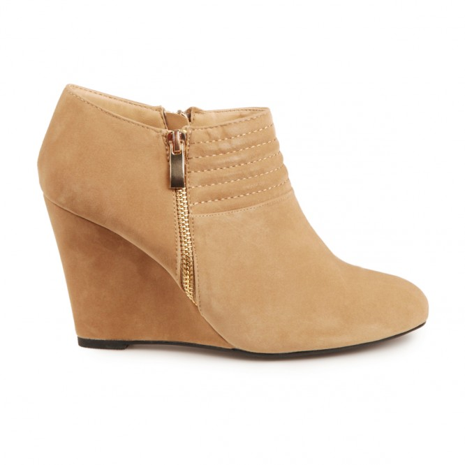 Low boots Chicago taupe