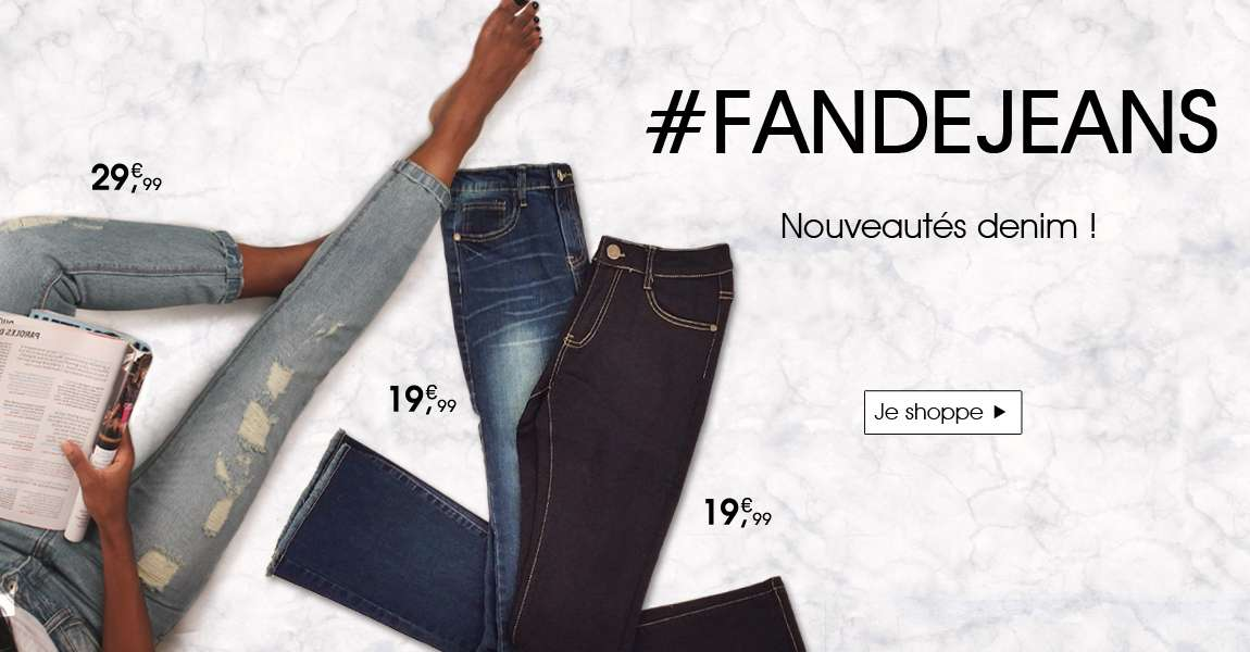 Jeans nouvelle collection
