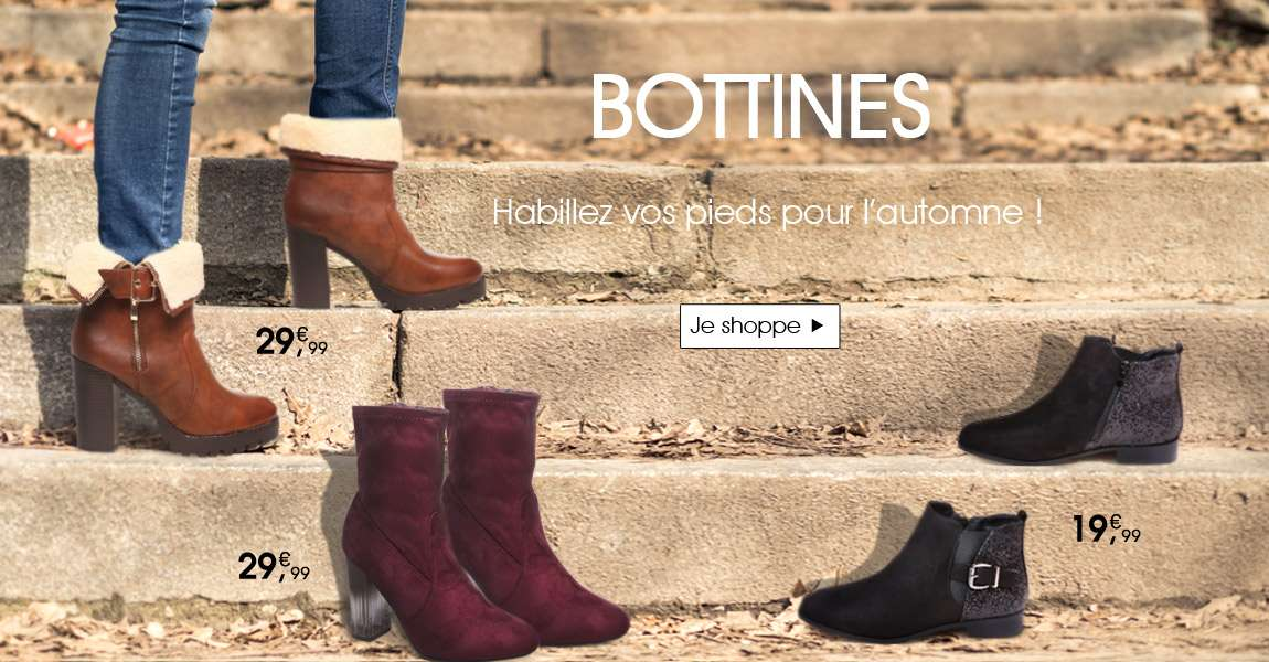 Nouvelle collection bottines