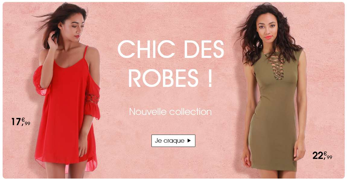 Robes nouvelle collection